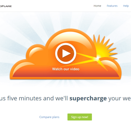 Home – CloudFlare – The web performance & Review