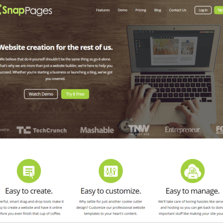 SnapPages – Create a Website Review