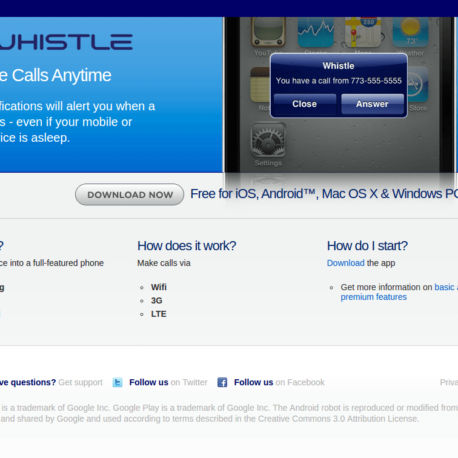 Whistle Phone Review