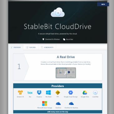 StableBit CloudDrive and Backblaze