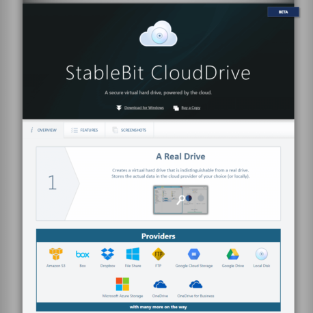 StableBit – CloudDrive Review