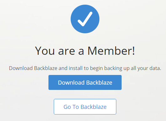 You are a Member!