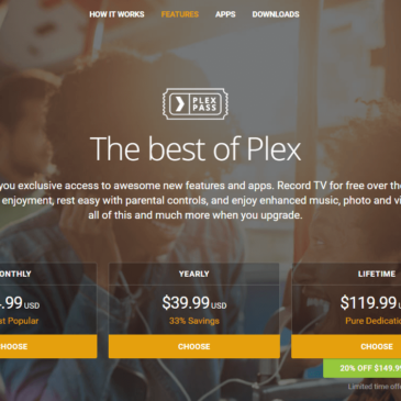 Plex Pass Lifetime Subscription On Sale Again!