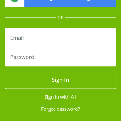 Android App Login