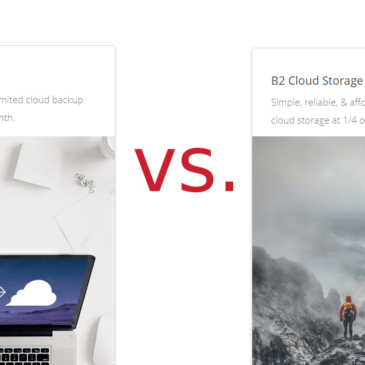 Backblaze Personal Backup vs Backblaze B2 Cloud Storage